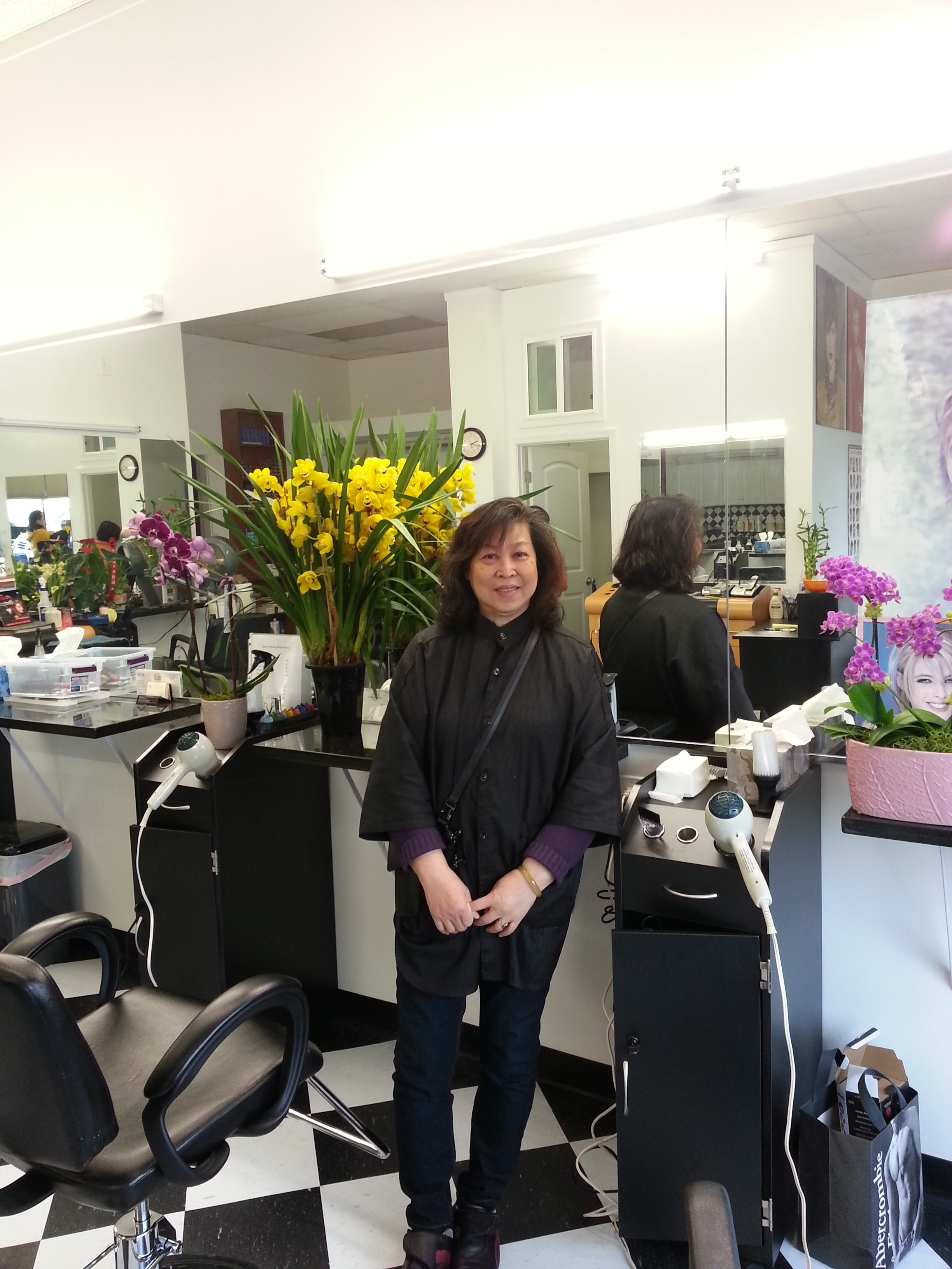 Nancy Luc in our shop